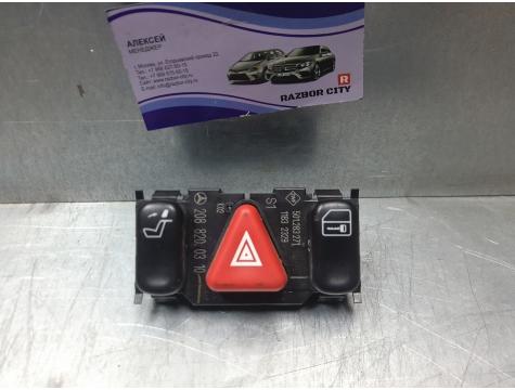 Блок кнопок аварийной сигнализации c кнопкой центрального замка Mercedes-Benz W210