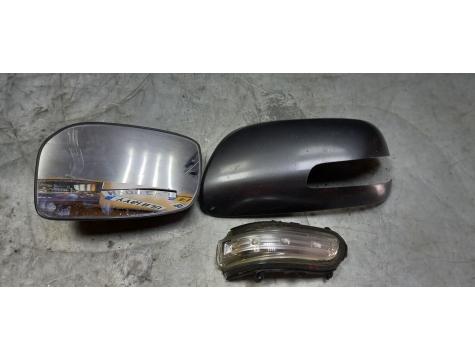 Зеркало левое запчасти  Toyota Avensis 2 2003-2008 AV02
